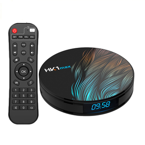 2019 moins cher Android 9.0 RK3328 4GB RAM 32GB 64G ROM android tv box HK1 Max 4k HD smart tv box HK1MAX