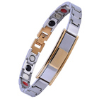 Customized Jewelry Men Bangle Engraved Custom Stainless Steel Bracelet For Man