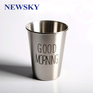 Hot selling Stainless steel juice milk tea cup sets