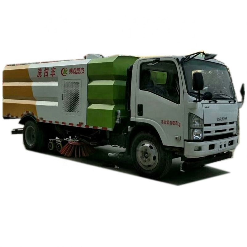 Road Sweeper Truck Kademe 6 M3 Vacuum Street Sweeper Highway Cleaning Truck