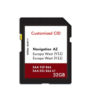 Professional Factory Custom CID Memory card Black color Yellow lock change CID sd card 8 GB 16GB 32gb Changeable cid