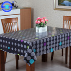 Made in china new design table cloth new fashion plastic table cloth for sale