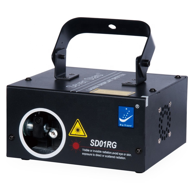 160mw Red Green RG mini laser three color dmx Laser Beam animation Scan DJ disco Party stage Decor lazer Light SD01RG