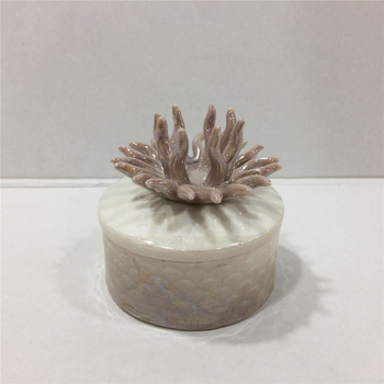 small ring ceramic jewelry gift storage custom box
