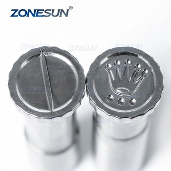 ZONESUN Tablet Die Pill Press Die Candy Milk Punch Set Custom Logo Punch and Die Cast Pill Press For Tablet TDP Machine