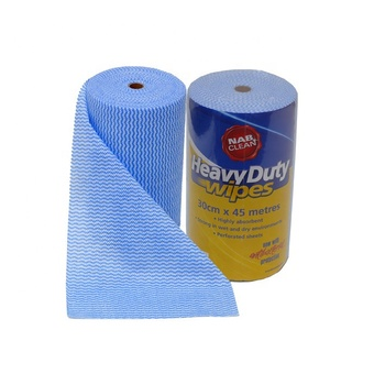 70%viscose &30% Polyester cleaning cloth/cheese cloth roll , nonwoven spunlace cleaning cloth roll