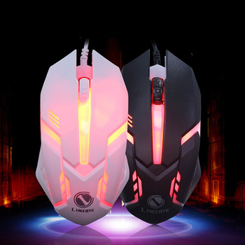 Wholesale Factory Cheap 3D Optical Wired USB Gaming Computer Mouse For Desktop