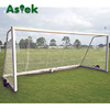 Futbol Senior Anti-tip System Metal Soccer Goal With Wheel