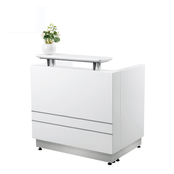 Kangzhimei wholesale reception counter table for beauty salon R007