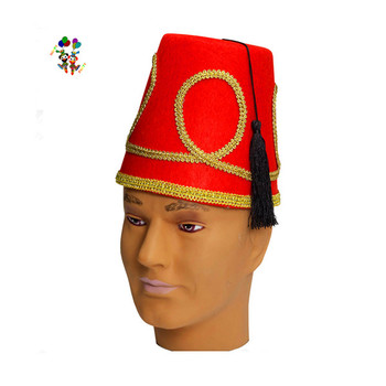 f5505250ad7d2 Cheap Red Felt Novelty Fancy Dress Party Costume Fez Hats HPC-0255