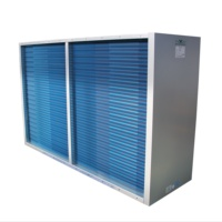 Rugged and durable heat pipe heat exchanger-air handling unit
