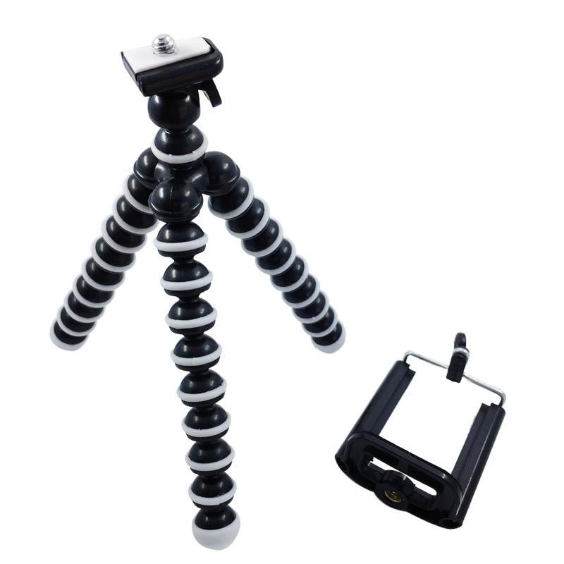 Rojo Cámara Nikon DSLR SLR trípode flexible Gorila Pulpo Soporte Soporte 1//4-20