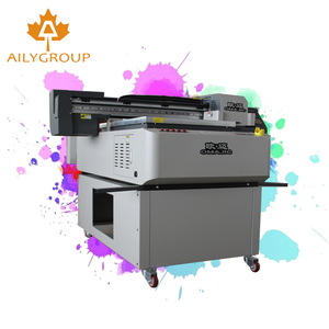 low price china diy acrylic uv 6090 flatbed printer with hot sale