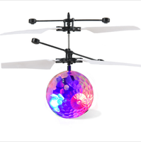 2019 Wholesale Flyingn Ball Hand Induction Controlled Colorful Children's Aircraft Suspended Sensory Novelty Gag Toys