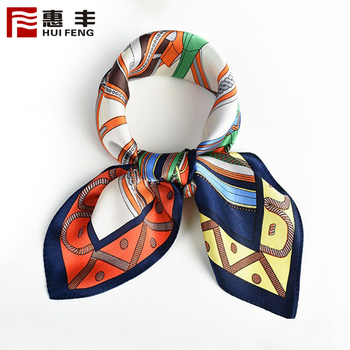 Fashionable Cheap Custom Logo Silk Scarf Animal Print Guangzhou ,Scarf Silk Printing