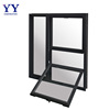Australia standard Double glass hung window aluminium hung window for residencial building