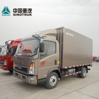China manufacturing 4x2 mini box van truck