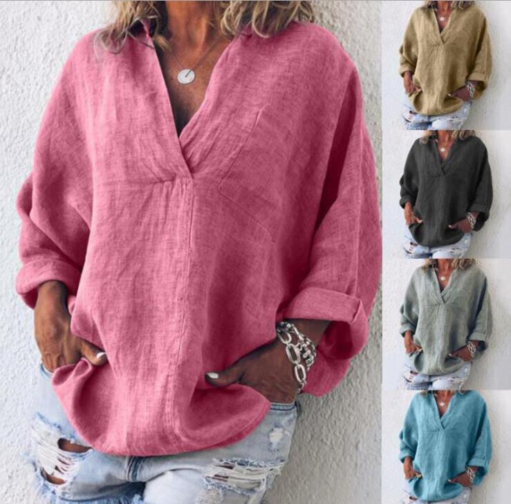reputable site eeb1f 11d51 camicie di lino da donna all'ingrosso-Acquista online i ...