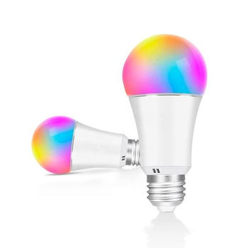 New Design Alexa and Google Home App Control Wireless Wifi Smart RGB E26 7W LED Bulb Wifi Light