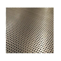 Small Hole 0.8mm hole diameter 1.6mm pitch Perforated Metal Mesh Sheet Screen for Filter