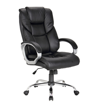 Executive Leather Swivel Office Chair