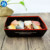 Kraft Paper Tray For Food French Fries Kraft Paper Tray Hot Dog Food Paper Tray