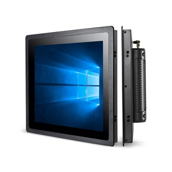 17.3 inch fanless embedded 1080p touch screen monitor all in one J1900 i3 i5 i7 processor industrial panel pc