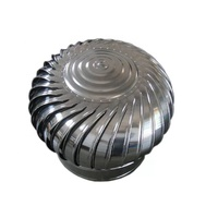 Wind Driven Turbine Air Ventilator Roof Fan Exhaust Fan stainless steel wind turbine ventilator with base plate