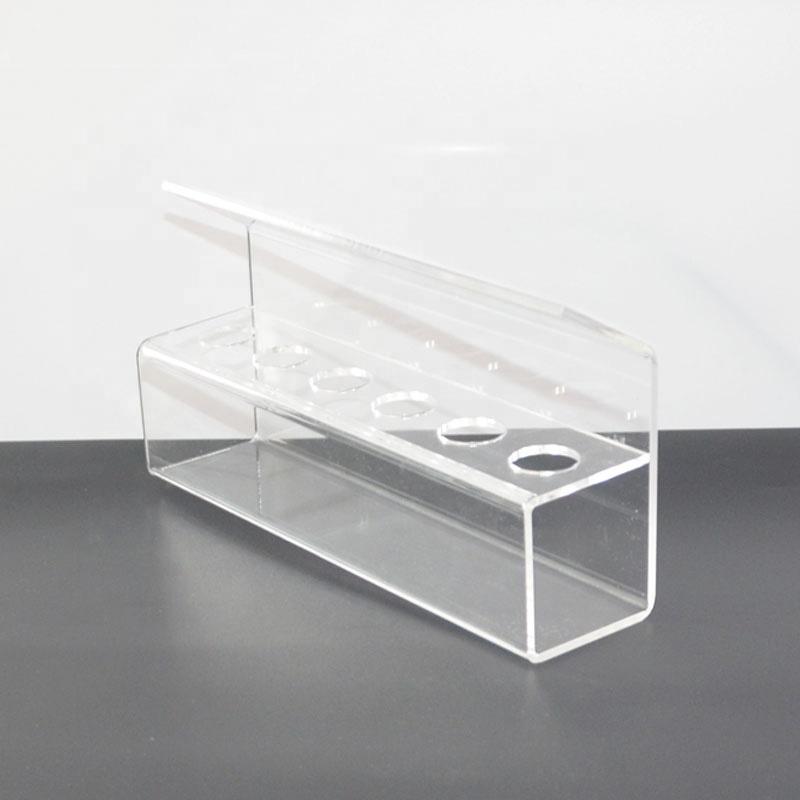 Engraved Acrylic Single Ice Cream Cone Holder Tray Display Stand Rack Wedding