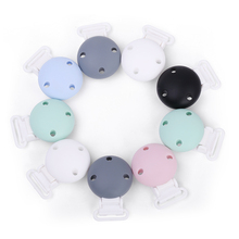 Kustom Lucu Bpa Gratis Silicone Teether Dot <span class=keywords><strong>Klip</strong></span>