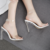 c11264a new style ladies high heel shoes women jelly sandals