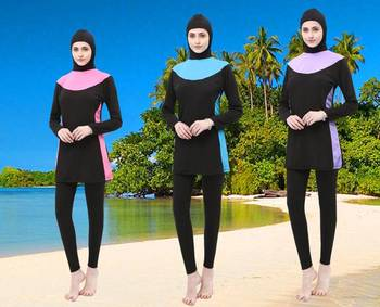 Swimming Suit Modest Islamic Swimwear Muslim Swim Suits Full Coverage Swimwear