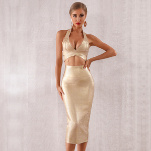 bbb91b611c6c 2 Piece Bandage Dress, 2 Piece Bandage Dress Suppliers and Manufacturers at  Alibaba.com