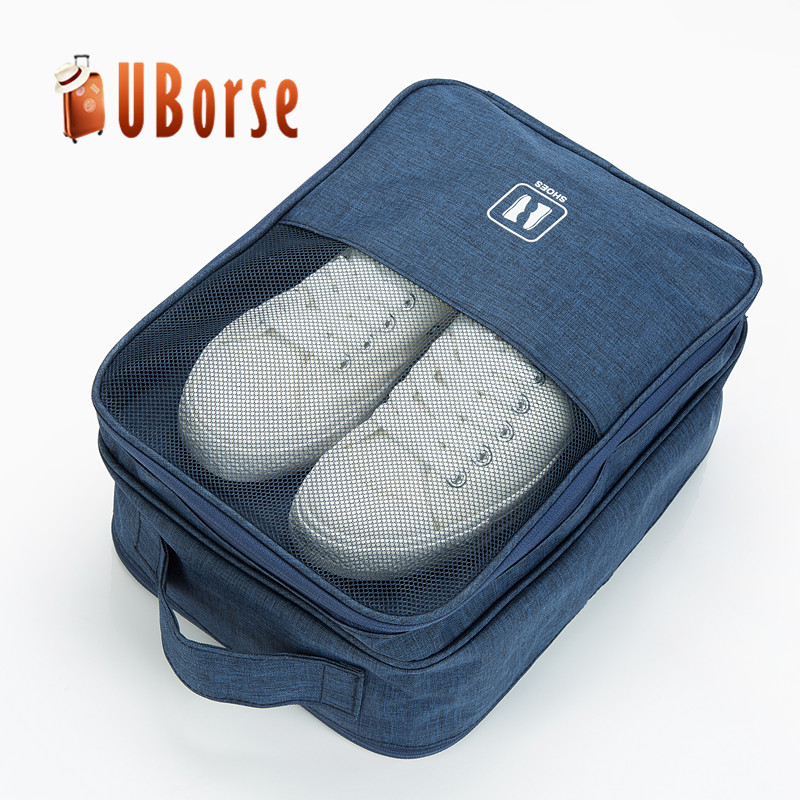 Travel Shoes Bag 3 Layer Shoes Organizer and shoe storage bag