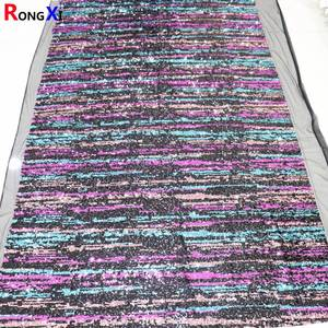 RXF1080 Hot Selling Glitter Fabric Organza For Wholesales