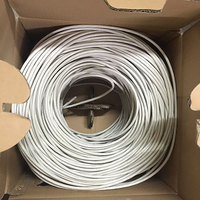 Made In China Network Cable 1000FT Bulk 4 Pair UTP Cat6 Network Cable Copper Lan Network Cat5e Cat 6 Cable 1000FT/Roll