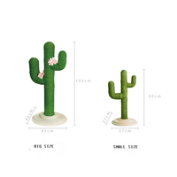 Small Size Cat tree Cactus Toy For Climbing, Playing, Scratching, and Relaxing