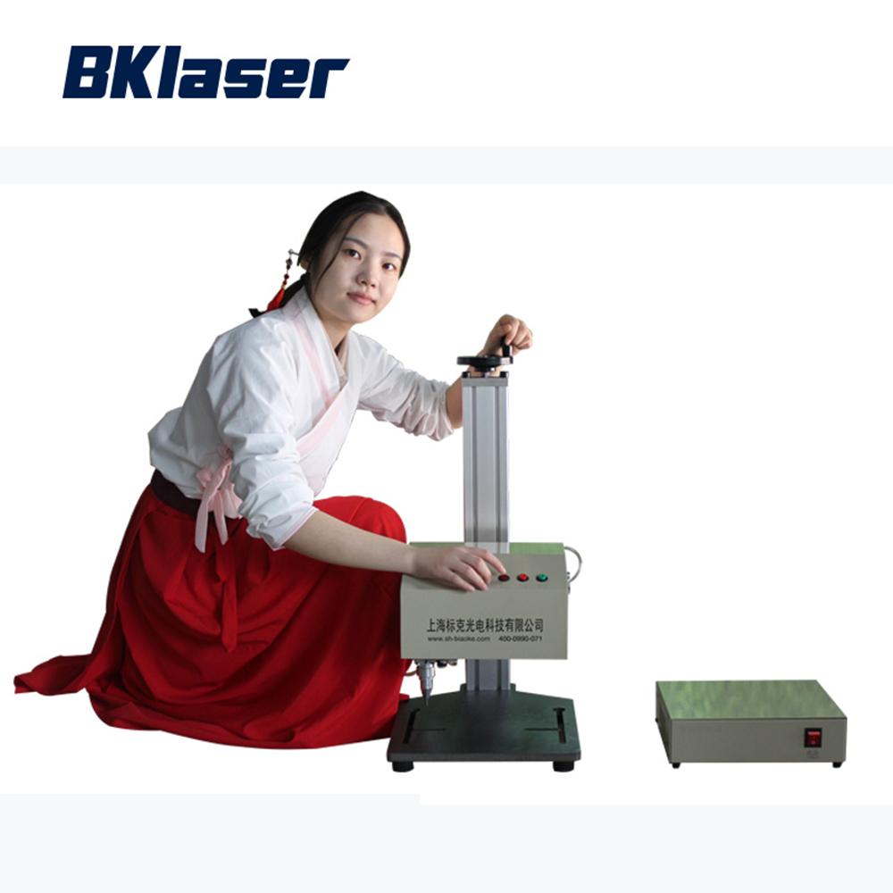 Easy operate electric dot peen marking machine with Thor X6 system for Nameplate marking