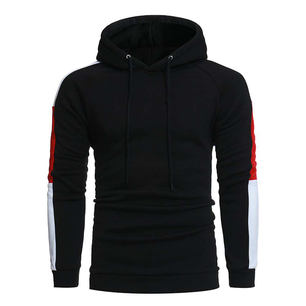 High quality wholesale custom slim fit <strong>black</strong> <strong>men</strong> <strong>hoodies</strong> with <strong>hoody</strong>