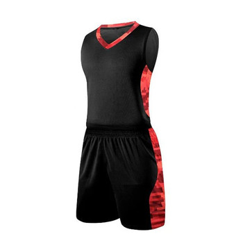 Großhandel billig reversible basketball uniformen neue design basketball trikots