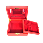 Custom Made Jewelry Packaging MDF Boxes Wooden boxes