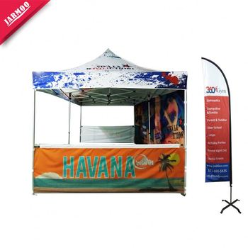 Factory Direct Sell canopy and table cloth Custom size pop up exhibition tent