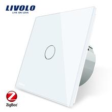 LIVOLO VL-C701Z-11 Zigbee Wireless Control Wifi Light Google Home Alexa Smart Switch