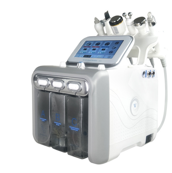 oxygen jet rejuvenation water microdermabrasion aqua facial machine