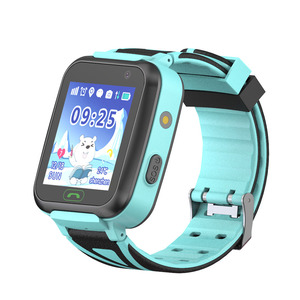 Factory manufacture gps smart watch with flashlight support voice monitoring with sos button for emergency calling TD16