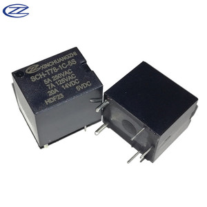 T78 Relay 20A SPDT Relay 5V 5Pin Automotive Relay 220V