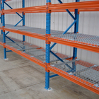 High Quality Pallet Rack with Wire Mesh Decking Garage Storage Rack