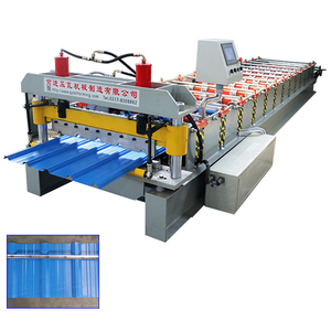 Professional automatic high rib zinc roof sheet roll forming machine
