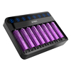 Efest 12v LUSH Q8 smart rechargeable battery charger for 18650