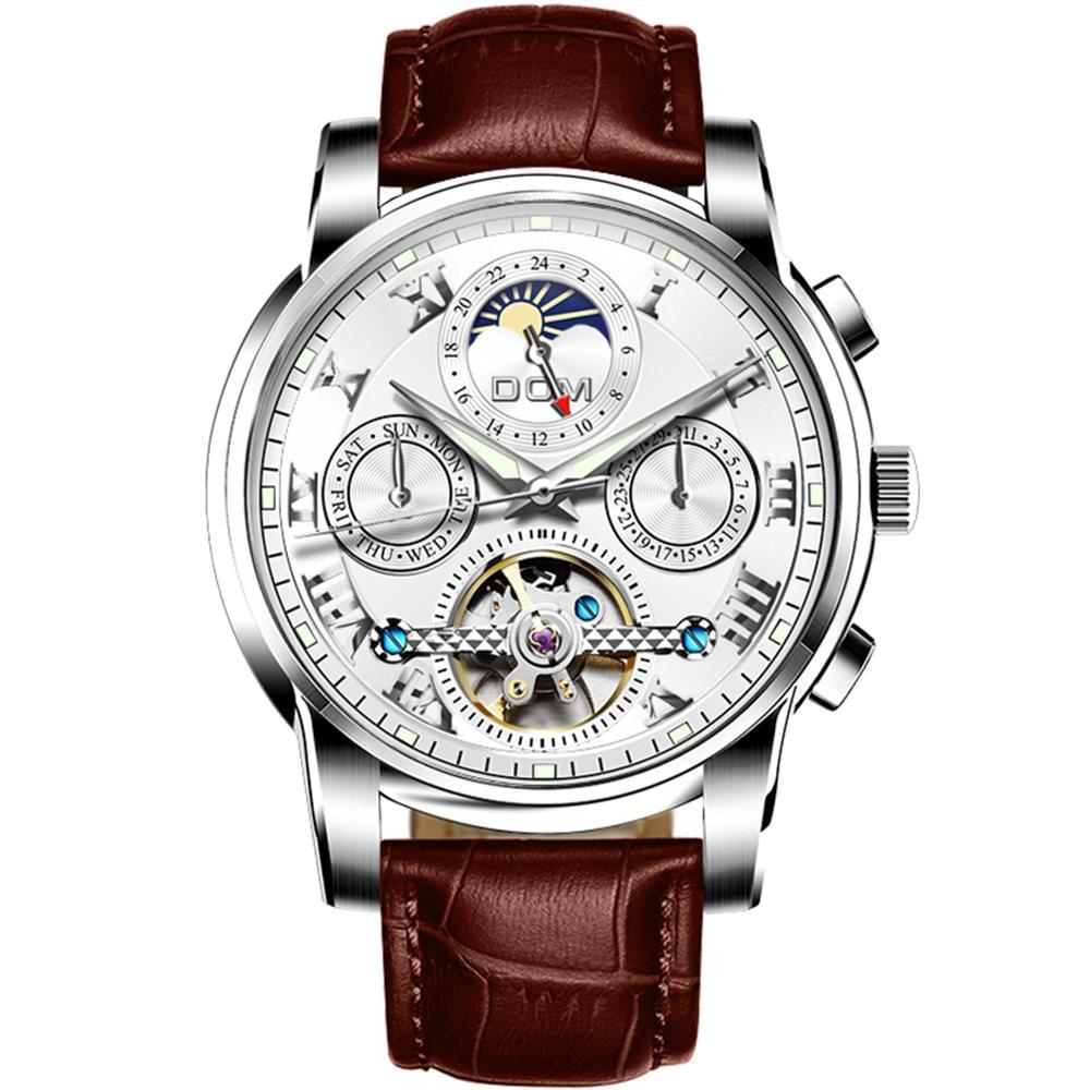 fotos oficiales a9490 4014a De alta calidad reloj de lujo de distribuidores precios baratos rosra reloj  de acero inoxidable automática--Identificación del ...